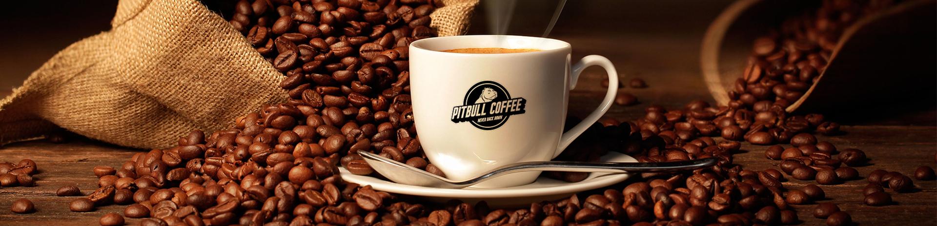Pitbull Coffee Banner